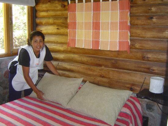 Casona y Cabanas Rio Mendoza : Confort y Servicios.