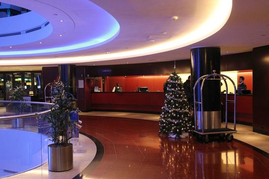 Sheraton Amsterdam Airport Hotel and Conference Center: Reception area