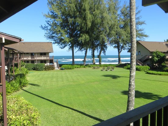Hanalei Colony Resort: This was the view from our balcony