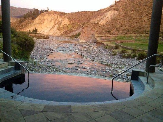 Colca Lodge Spa & Hot Springs - Hotel: Natural hot spring water pool at the spa