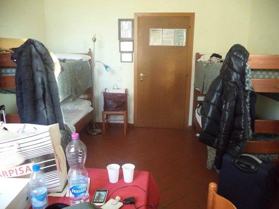 Ostello San Frediano: Interno camera.