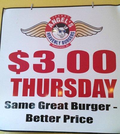 "Johnny Angel's Heavenly Hamburgers: Angel""s Special"
