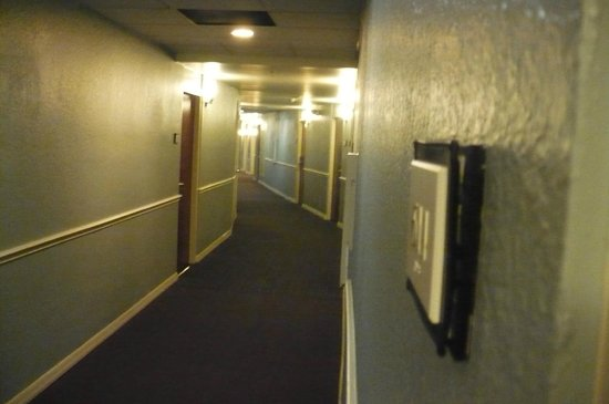 Sheraton Tampa Riverwalk Hotel : Sixth floor hallway