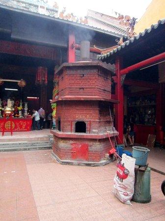 Sin Sze Si Ya Temple : Interior Detail