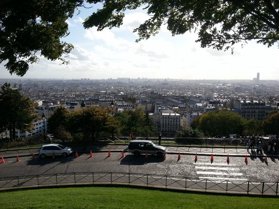Villa Royale is situated a few minutes walk from Sacré Coeur