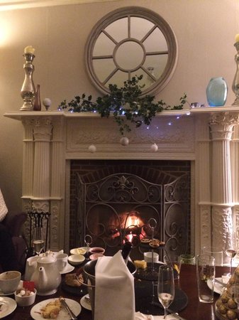 The Norfolk Mead Hotel: Afternoon tea by the fire and in the Lounge
