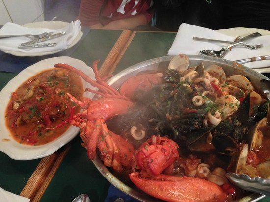The Daily Catch: lobster with black pasta