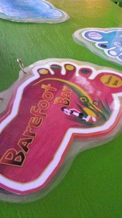 Barefoot Bar: Huge menu full of fun drinks & snacks