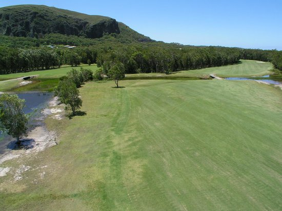 Mount Coolum Golf Club : Mt Coolum Golf Club - 6th Fairway