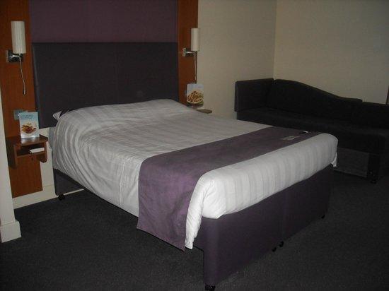 Premier Inn Sheffield City Centre (St Mary's Gate) Hotel: Letto