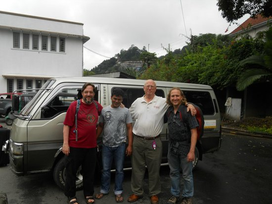 Rainbow Tours Sri Lanka: My Father and Brothers with Wasantha.