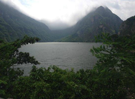 Cañón del Sumidero: panoramic