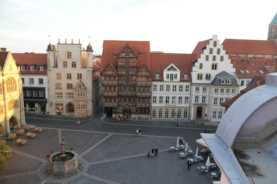 Van der Valk Hotel Hildesheim : View from the room