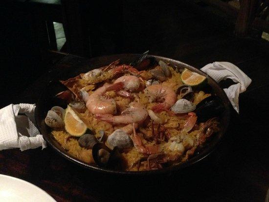 Sabor Espanol: paella de mariscos