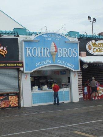 Kohr Brothers Frozen Custard : Kohr Bros
