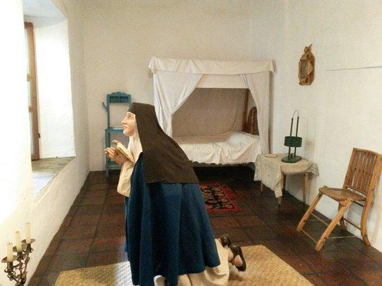 El Museo de Las Conceptas : Representación de la forma de vida de las religiosas en esa época