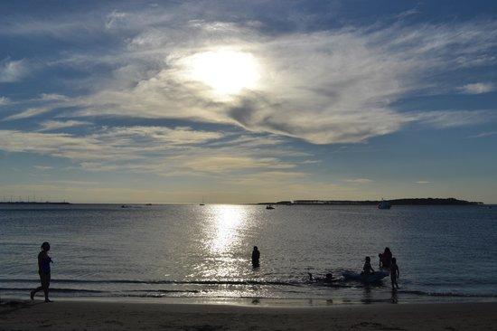 Playa Mansa: Praia mansa