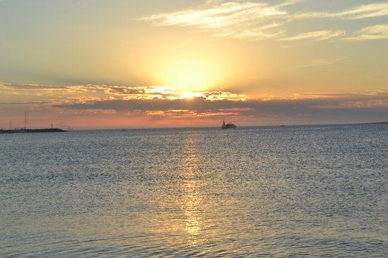 Playa Mansa: Fim de tarde