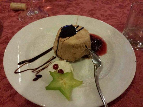 Hotel Tesoretto : Lo splendido e ottimo dessert del cenone di san silvestro