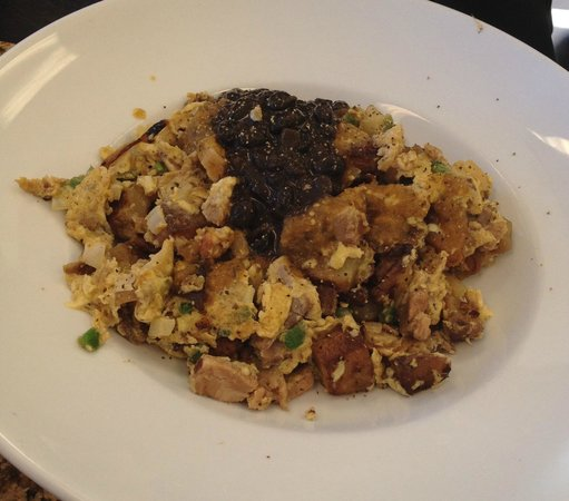Perk Eatery: Sonoran Kitchen Sink Scramble