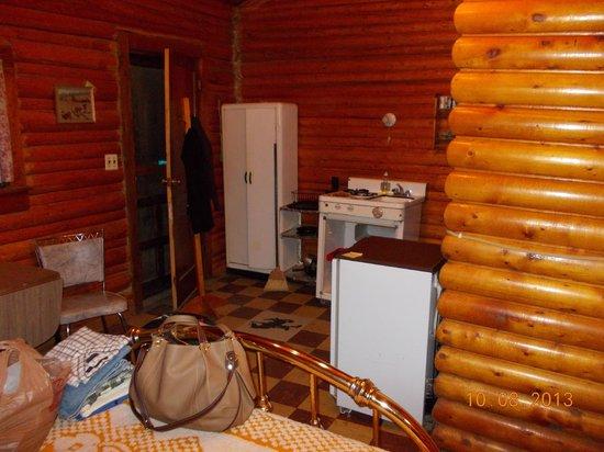 Riverside Garage & Cabins: Inside the cabin