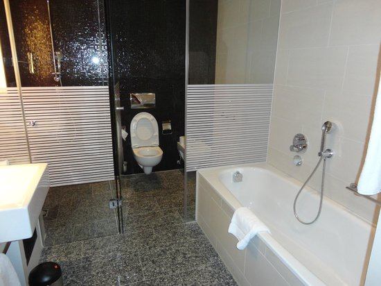 InterContinental Berlin: The bathroom