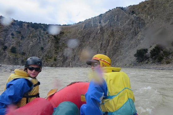 Clarence River Rafting Kaikoura: Neat rock formations Clarence River