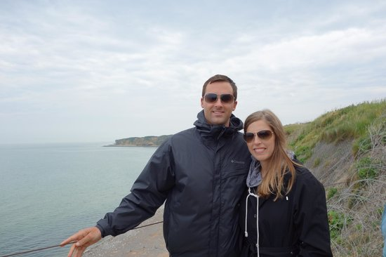 Dale Booth Normandy Tours: Kelly and Matt - Dale's Tour