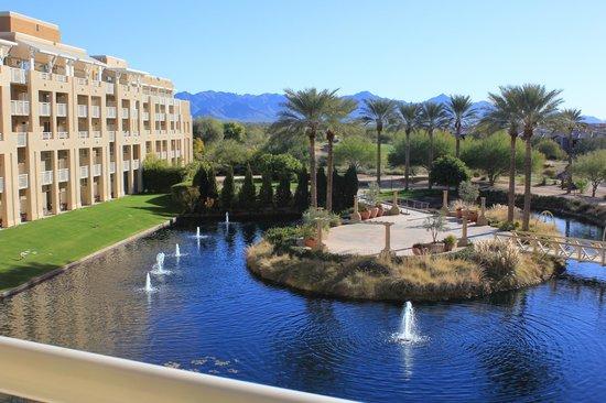 JW Marriott Phoenix Desert Ridge Resort & Spa: View from our room