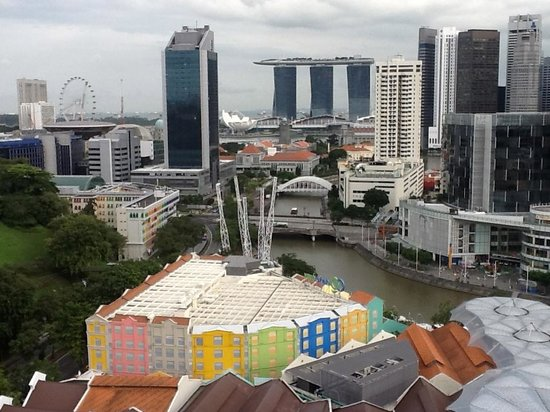 Novotel Singapore Clarke Quay: View from my room