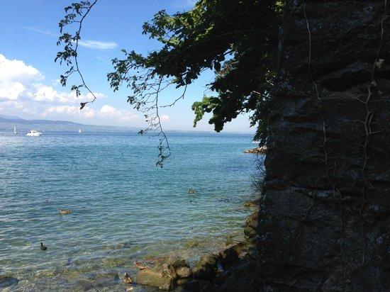 Visite d'Yvoire : Le Lac Léman