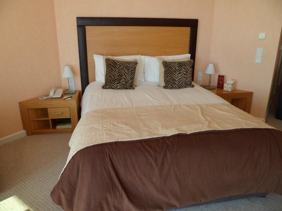 Hotel de France: large bed in Spa Room