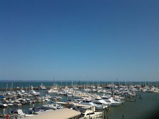 Mantra Hervey Bay: view from 5th floor balcony
