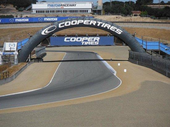 Mazda Raceway Laguna Seca: Parte da pista
