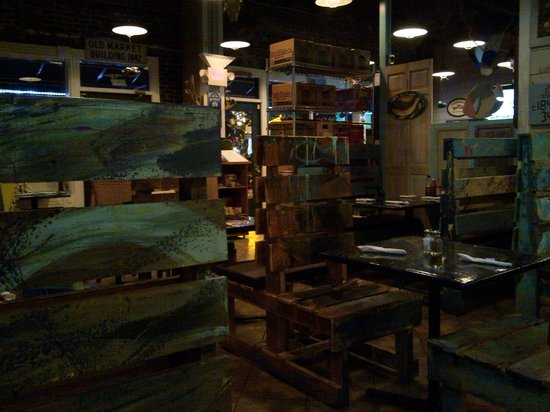 The WildFish Grill: Inside shot