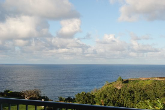 The Cliffs at Princeville: view from our condo