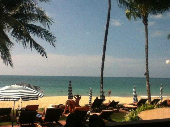 Khaolak Bayfront Resort Hotel Khao Lak: Die Aussicht von einem Beachfront Bungalow