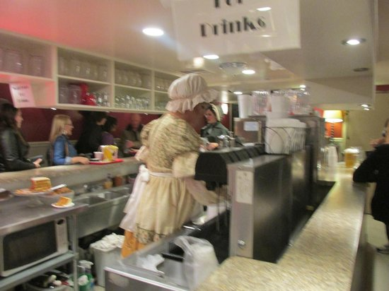 Great American Melodrama and Vaudeville: Concession stand...be sure to leave a tip- you'll get a surprise