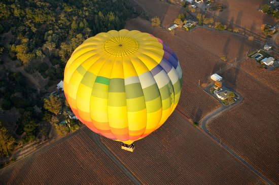 Balloons Above the Valley: As breathtaking as it looks