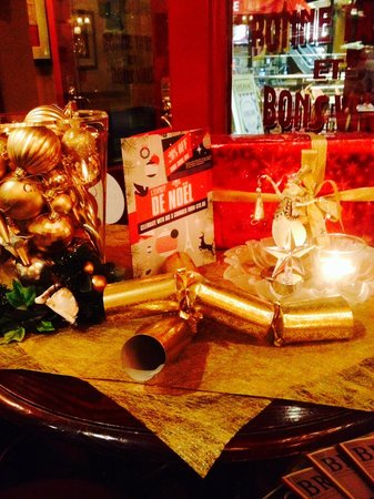 Cafe Rouge Bristol Cabot Circus: Christmas @ Rouge