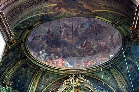 Eglise Saint-Sulpice: Ceiling fresco at St. Sulpice