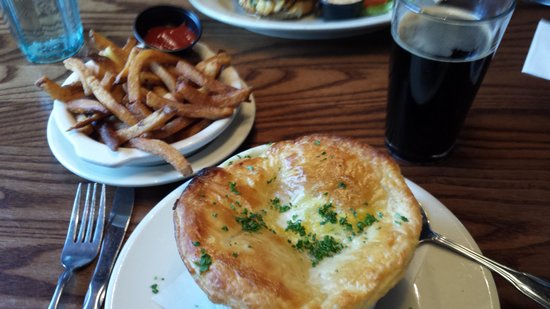 Dogfish Head Alehouse: Turkey Pot Pie