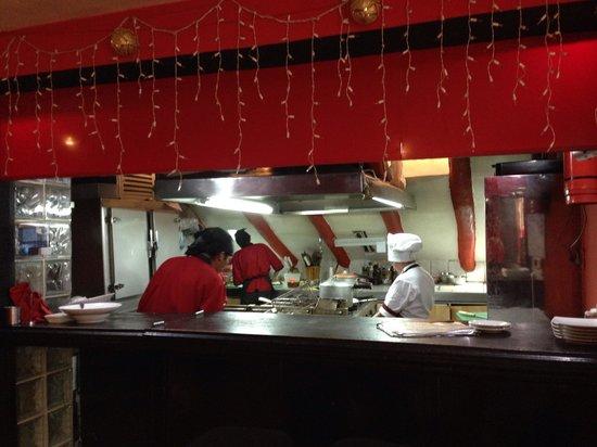 Marcelo Batata Restaurant: The kitchen