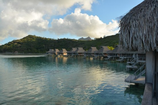 Conrad Bora Bora Nui: View from OWB 325