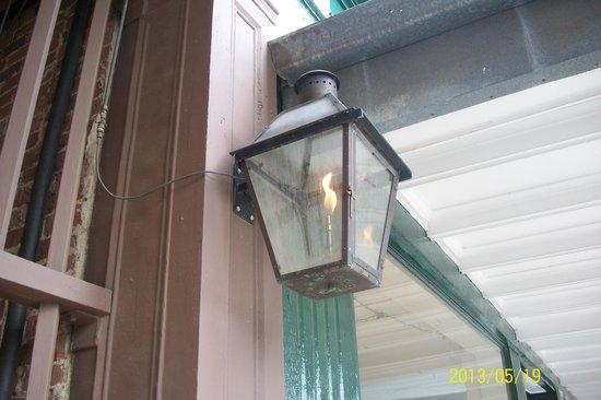 Historic District Shopping: Operational  Original  Gaslight