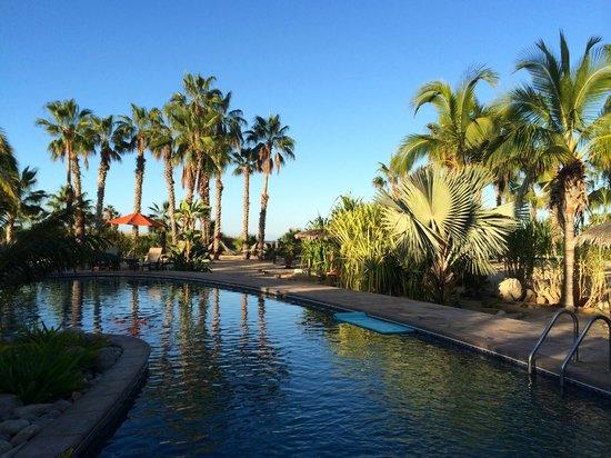 Posada La Poza: Pool view