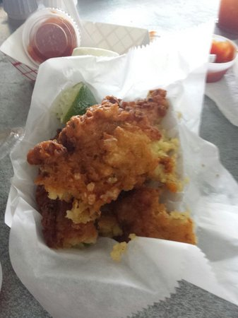 Alabama Jack's: The BEST Conch Fritters (trust us...we ate a bunch!)