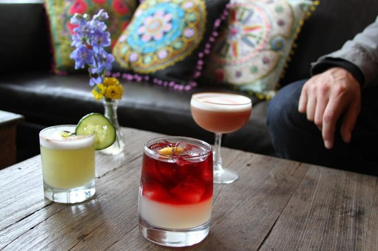 The Rose: yummy drinks