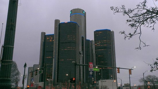 Detroit Marriott at the Renaissance Center : Renaissance Center Detroit