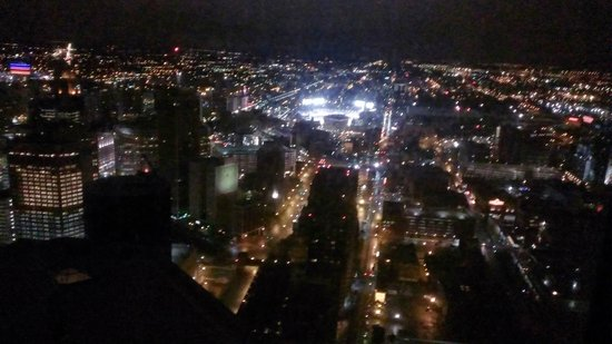Detroit Marriott at the Renaissance Center : View from room 62 floor